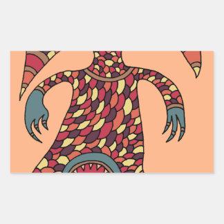The Hungry Cyclops Rectangular Sticker