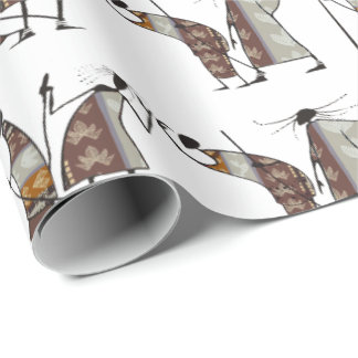 The Hunt Wrapping Paper