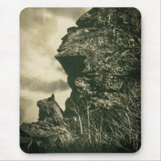 The Hunter and his Dog at Smuggler's Notch, Vermon Mouse Pad