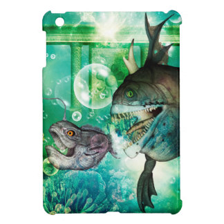 The hunter and hunted in the underwater world iPad mini case