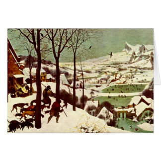 The Hunters in the Snow - 1565 Card
