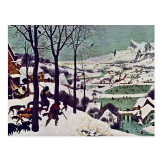 The Hunters In The Snow,  By Bruegel D. Ä. Pieter Postcard