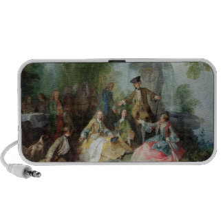 The Hunting Party Meal, c. 1737 Mp3 Speaker