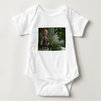 The Huntress Baby Bodysuit