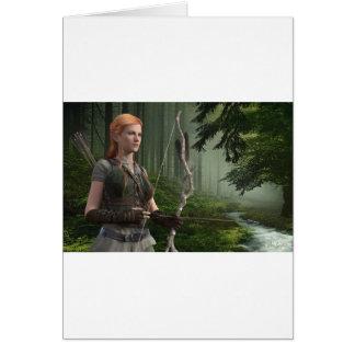 The Huntress Card