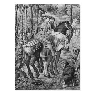 The Hunts of Maximilian, Leo, The Stag Hunt Postcard