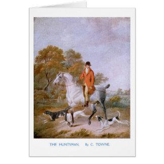 The Huntsman Greeting Card