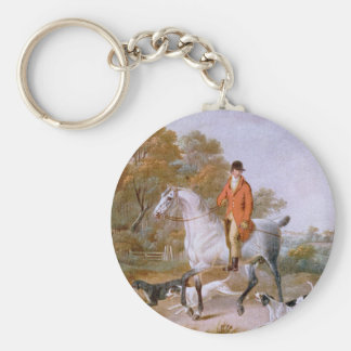 The Huntsman Basic Round Button Key Ring