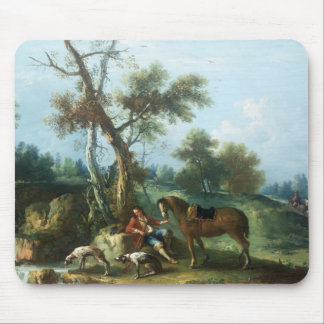 The Huntsman's Rest, 18th century Mouse Pad