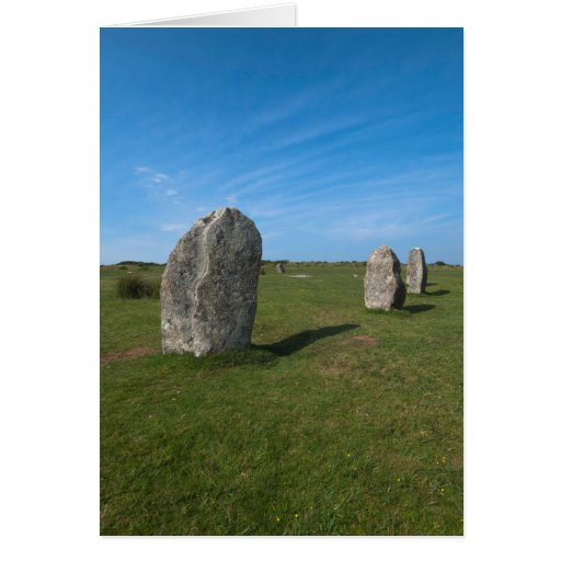 The Hurlers, Minions, Cornwall Greeting Cards