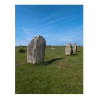 The Hurlers, Minions, Cornwall Postcard