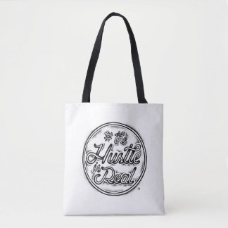 The Hustle is real vintage tattoo style quote Tote Bag