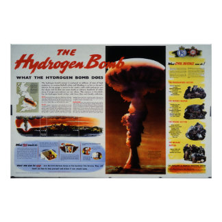 The Hydrogen Bomb Poster