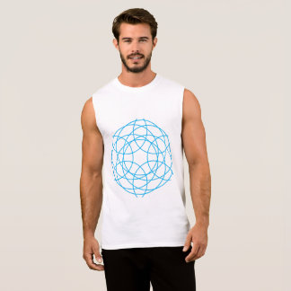 The Hypnotic Circles Sleeveless Shirt