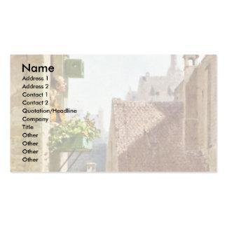 The Hypochondriac By Spitzweg Carl Business Card