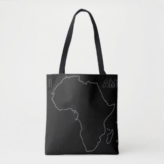 """The """"I Am Africa"""" All Black Everything Tote"""