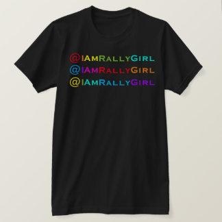 The I Am RallyGirl™ Social Media Handle Tee