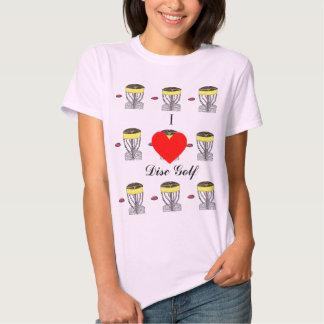 The I ♥ Disc Golf t-shirt