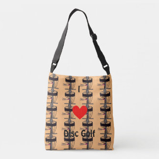 The I ♥ Disc Golf tote bag