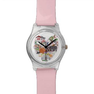 The I LOVE FRISCO Texas wrist watch