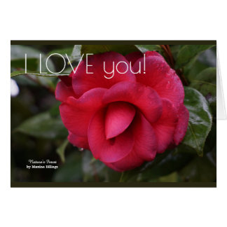 """The """"I LOVE you"""" Greeting Card"""