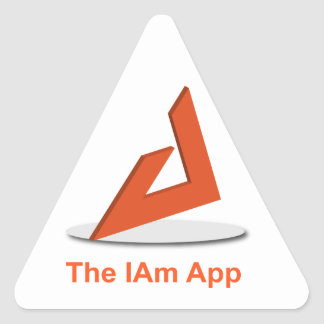 The IAm Triangle Sticker