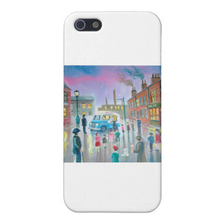 The Ice Cream Van oil painting iPhone 5/5S Covers
