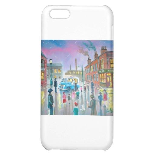 The Ice Cream Van oil painting Case For iPhone 5C