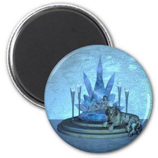 The Ice Queen 6 Cm Round Magnet