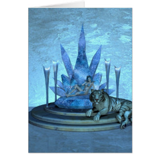 The Ice Queen Card