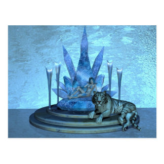 The Ice Queen Post Card