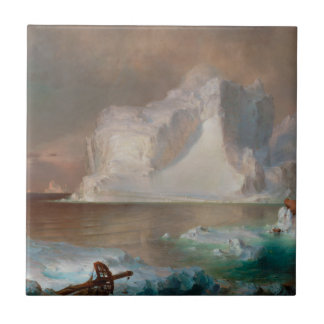 The Icebergs by Frederic Edwin Church 1861 Ceramic Tile