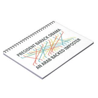 The Identity of Barack Obama Spiral Note Book