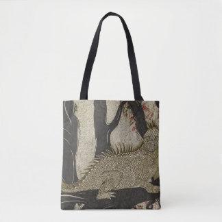 the Iguana tote bag