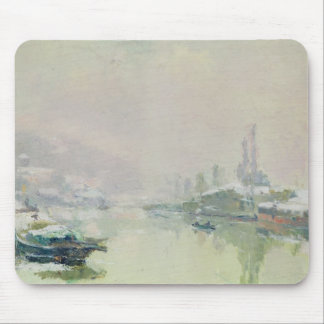The Ile Lacroix under Snow, 1893 Mouse Pad