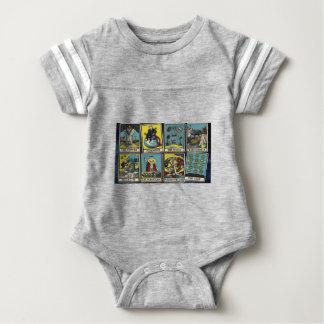 THE ILLUMINATI CARD GAME BABY BODYSUIT