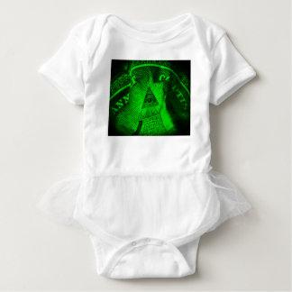 The Illuminati Eye Baby Bodysuit