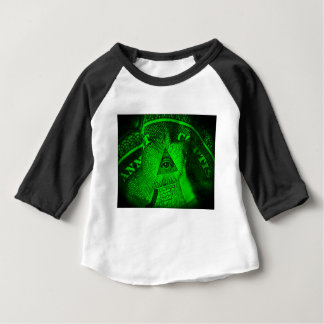 The Illuminati Eye Baby T-Shirt