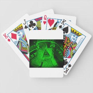 The Illuminati Eye Bicycle Playing Cards