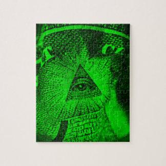The Illuminati Eye Puzzles