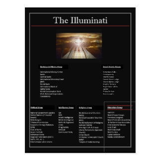 The Illuminati Postcard