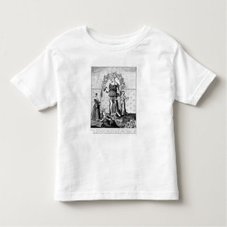 The Image of Dame Astrology with the Three Toddler T-Shirt