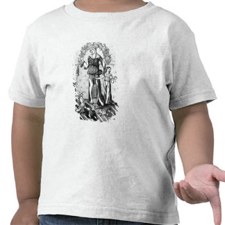 The Image of Dame Astrology with the Three T Shirt