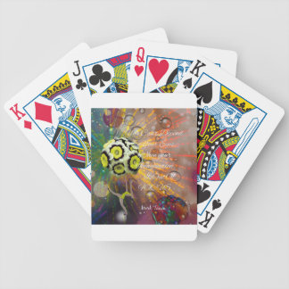 The imagination is a powerful tool in our life bicycle playing cards