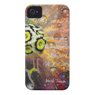 The imagination is a powerful tool in our life iPhone 4 case