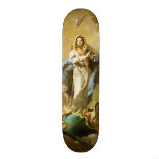 The Immaculate Conception by Giovanni B. Tiepolo 19.7 Cm Skateboard Deck