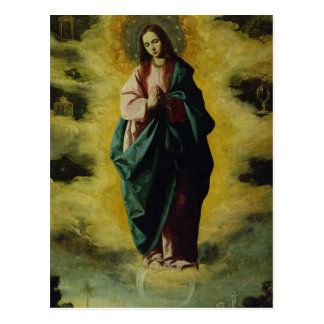The Immaculate Conception, c.1630-35 Postcard