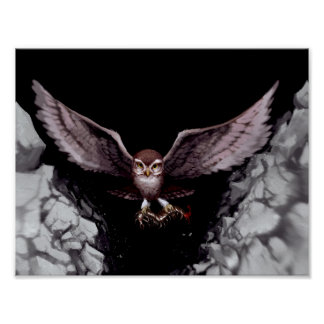The Immortal Bird, Rowling Poster
