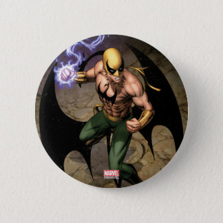 The Immortal Iron Fist 6 Cm Round Badge