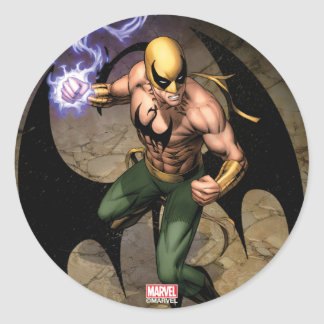 The Immortal Iron Fist Classic Round Sticker